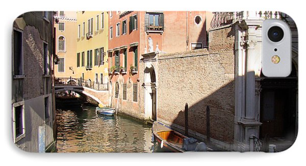 Venice Sunny Afternoon IPhone Case by Walter Fahmy