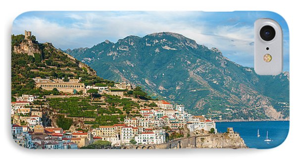 Sunny Amalfi City IPhone Case by Gurgen Bakhshetsyan