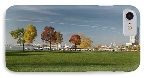 IPhone Case featuring the photograph Sunny Autumn Day by Jonah  Anderson