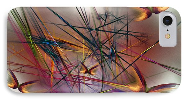 Sunny Day-abstract Art IPhone Case by Karin Kuhlmann