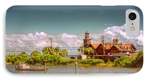 Sunny Day At Cedar Key IPhone Case