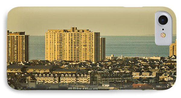 Sunny Day In Atlantic City Phone Case by Trish Tritz