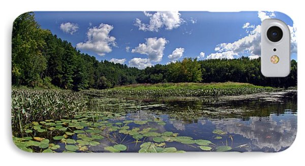 Sunny Day On The Merrimack IPhone Case by Rick Frost