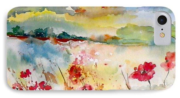 Sunny Field Phone Case by Anna Ruzsan