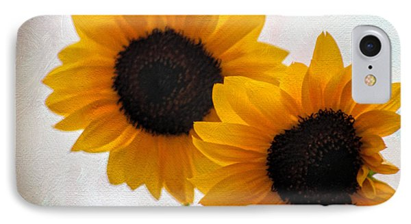 Sunny Flower On A Rainy Day IPhone Case