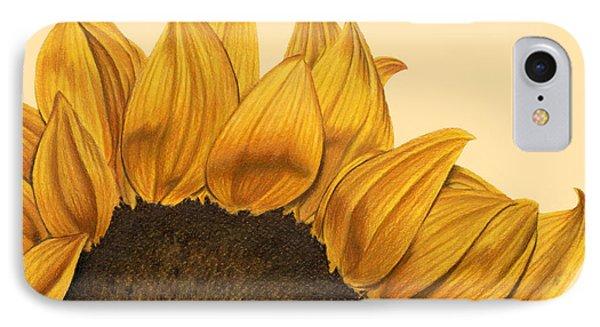 Sunny Flower IPhone Case by Sarah Batalka