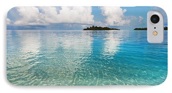 Sunny Invitation For  You. Maldives IPhone Case by Jenny Rainbow