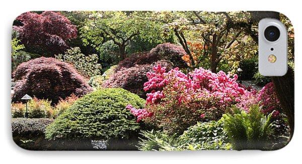 Sunny Japanese Garden Phone Case by Carol Groenen