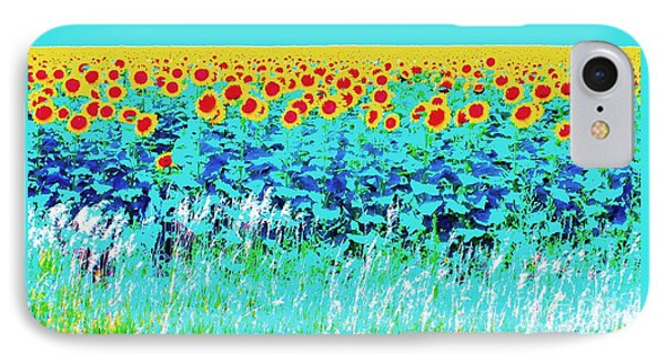 Sunny Kansas IPhone Case by Ann Johndro-Collins