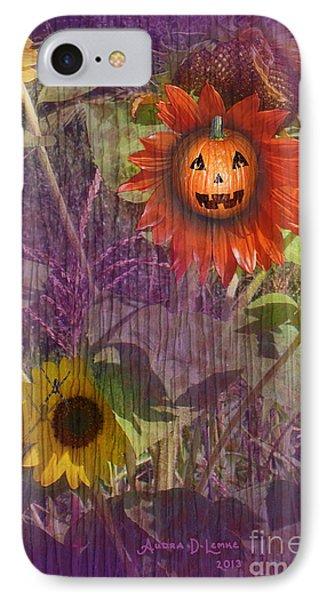 Sunny Pumpkin Phone Case by Audra D Lemke