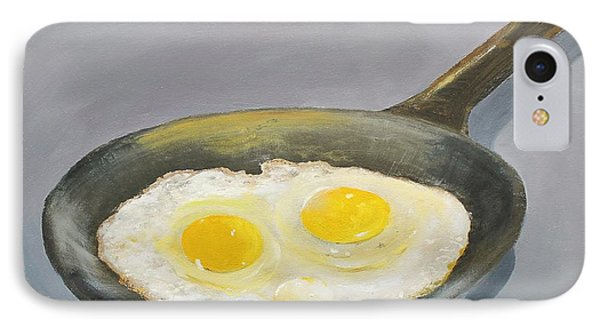 IPhone Case featuring the painting Sunny Side by Ken Ahlering