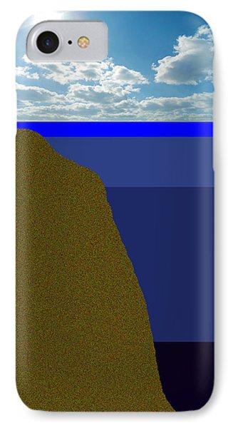 Sunny Sky Over Dead Oceans 2 Phone Case by Bruce Iorio