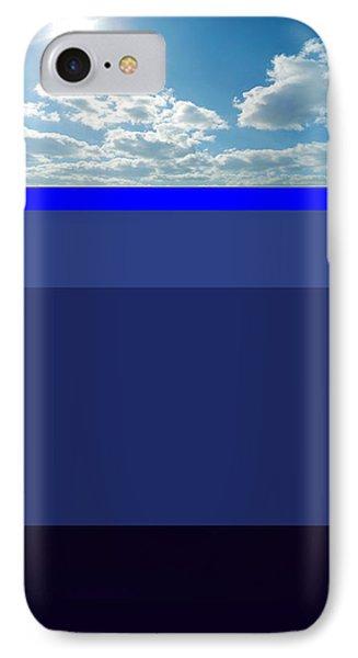 Sunny Sky Over Dead Oceans Phone Case by Bruce Iorio