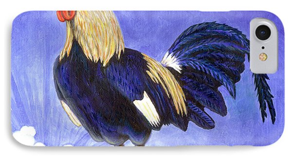 Sunny The Rooster Phone Case by Linda Mears