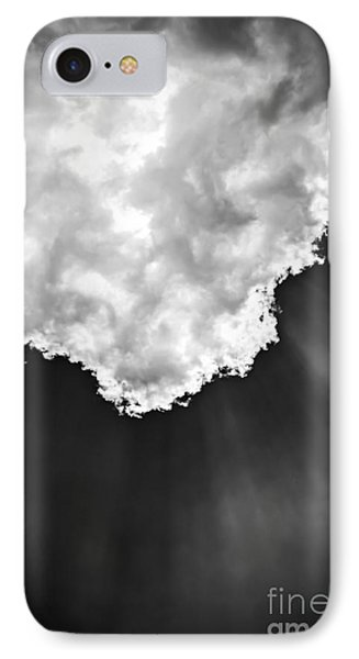 Sunrays In Black And White IPhone Case by Elena Elisseeva