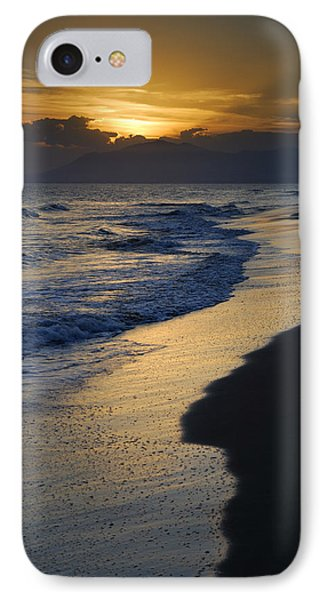 Sunrays Over The Sea IPhone Case by Guido Montanes Castillo