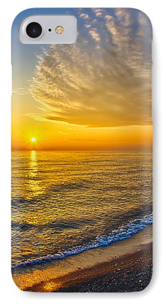 Sunrise 10-30-13 IPhone Case by Michael  Bennett