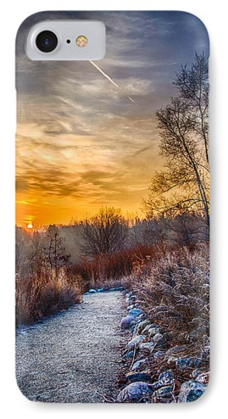 Sunrise 12-2-13 01  IPhone Case by Michael  Bennett