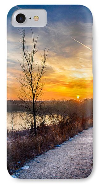 Sunrise 12-2-13 02 IPhone Case by Michael  Bennett