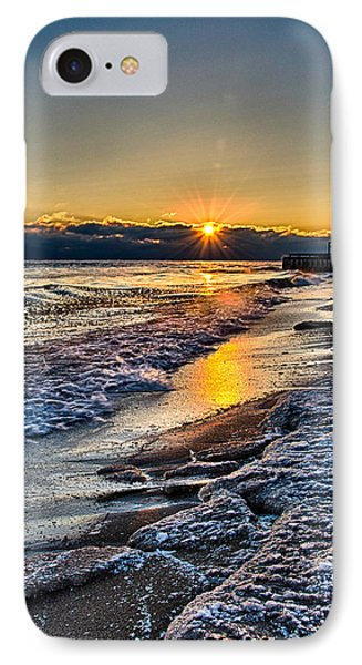 Sunrise 12-5-13 II IPhone Case by Michael  Bennett