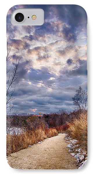 Sunrise 12-5-13 IPhone Case by Michael  Bennett