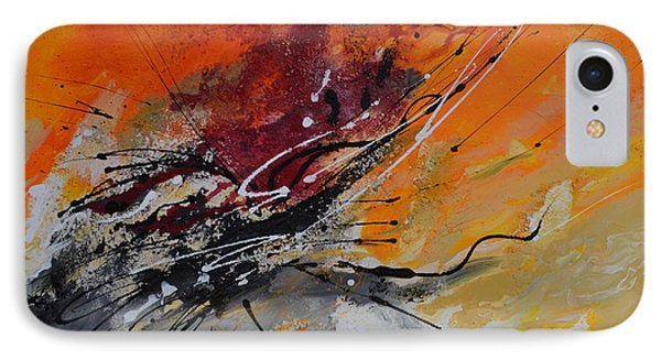 Sunrise - Abstract Phone Case by Ismeta Gruenwald