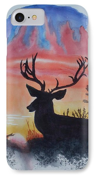 Sunrise Alert  IPhone Case by Warren Thompson