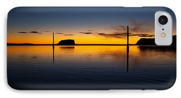 IPhone Case featuring the photograph Sunrise And Calm by Trena Mara
