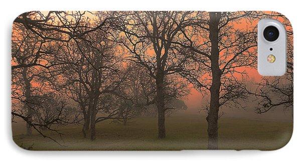 Fog And Sunrise 2 IPhone Case by John Norman Stewart