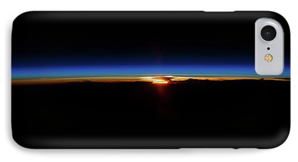 Sunrise And Sunset Over North Pacific IPhone Case