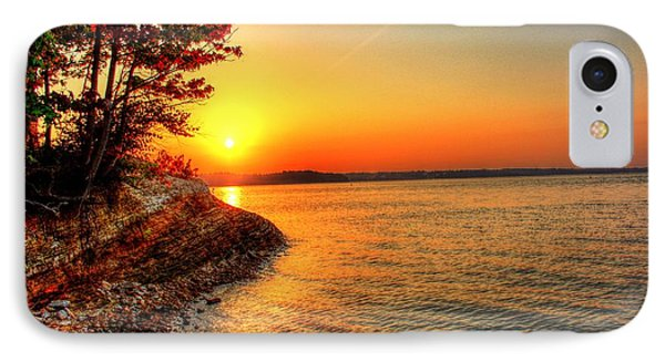 Sunrise Around The Bend IPhone Case