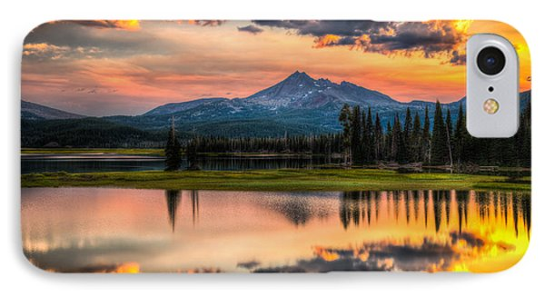 Sunrise At Brokentop IPhone Case by Chris McKenna