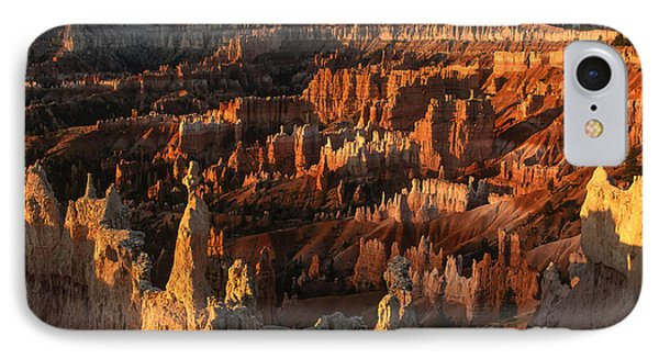 Sunrise At Bryce Canyon Phone Case by Sandra Bronstein