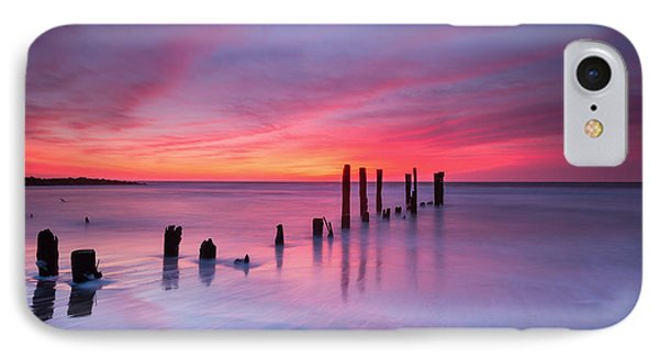 Sunrise At Deal Nj IPhone Case by Michael Ver Sprill