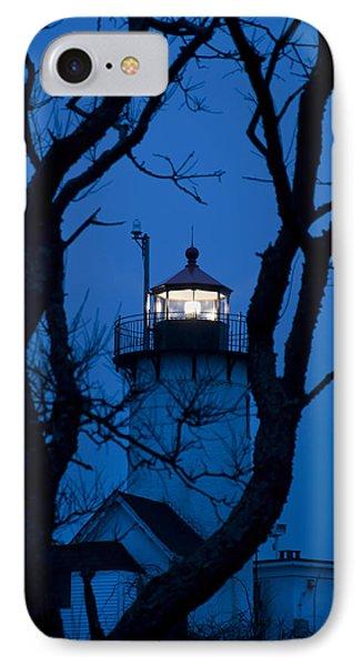 Sunrise At Eastern Point Lighthouse - Gloucester Ma IPhone Case by Joann Vitali