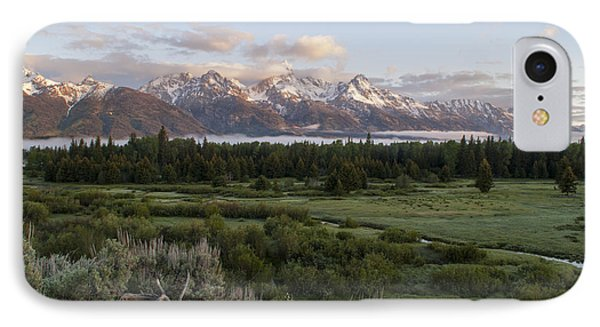 Sunrise At Grand Teton Phone Case by Brian Harig