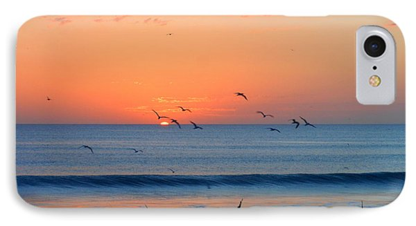 IPhone Case featuring the photograph Sunrise At Indialantic by Kay Gilley