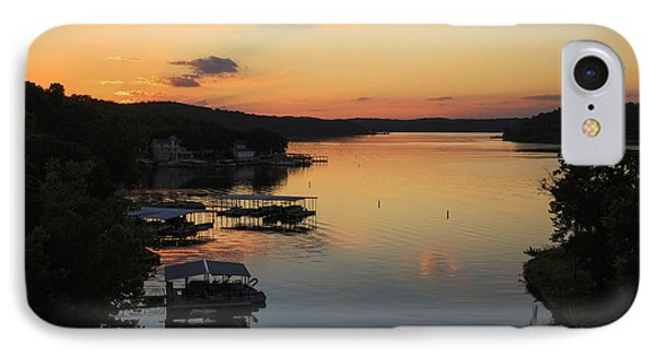 Sunrise At Lake Of The Ozarks IPhone Case by Dennis Hedberg