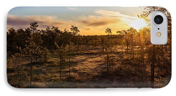 Sunrise At Linnaistensuo Phone Case by Janne Mankinen