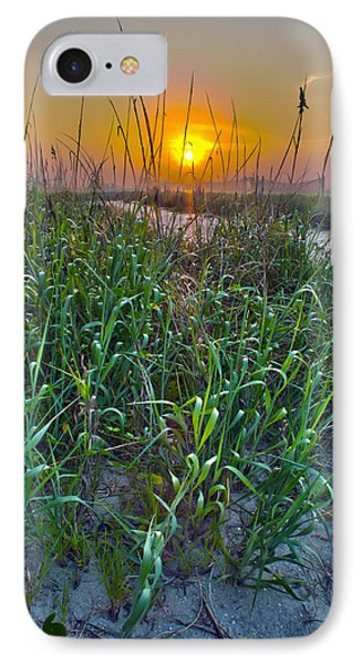 IPhone Case featuring the photograph Sunrise At Myrtle Beach by Alex Grichenko