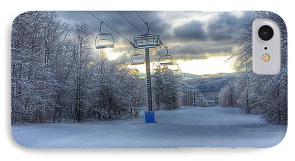 Sunrise At Okemo Mountain IPhone Case