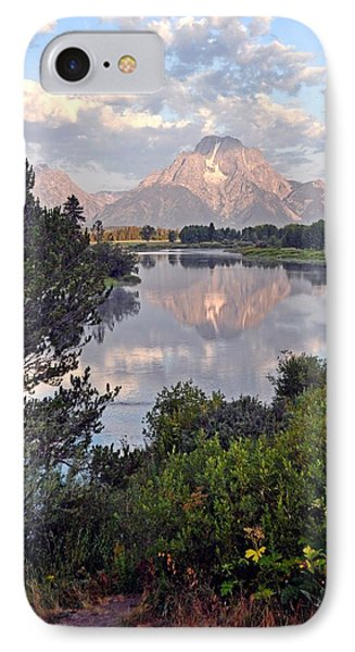 Sunrise At Oxbow Bend 3 Phone Case by Marty Koch