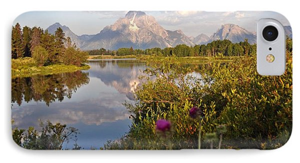 Sunrise At Oxbow Bend 5 Phone Case by Marty Koch