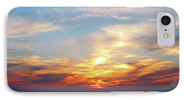 Sunrise At Sea Phone Case by Susan Savad