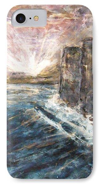 Sunrise At Tal-gurdan Cliffs Phone Case by Marco Macelli