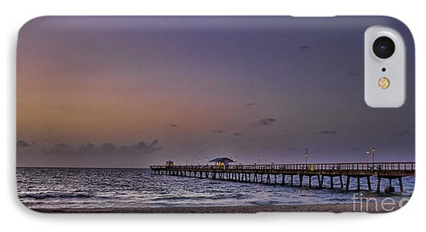 IPhone Case featuring the photograph Sunrise At The Beach by Anne Rodkin