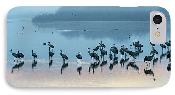 Sunrise Over The Hula Valley Israel 5 IPhone 7 Case by Dubi Roman