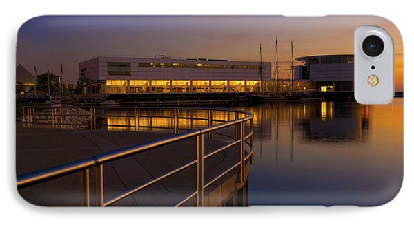 IPhone Case featuring the photograph Sunrise At The Lakefront by Jonah  Anderson