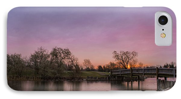 Sunrise At The Park Phone Case by Dwayne Schnell