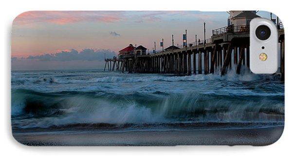 IPhone Case featuring the photograph Sunrise At The Pier by Duncan Selby